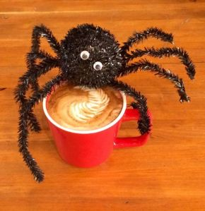 halloween latte